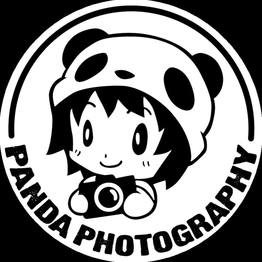 Panda by jin on. Photograph clipart photography logo