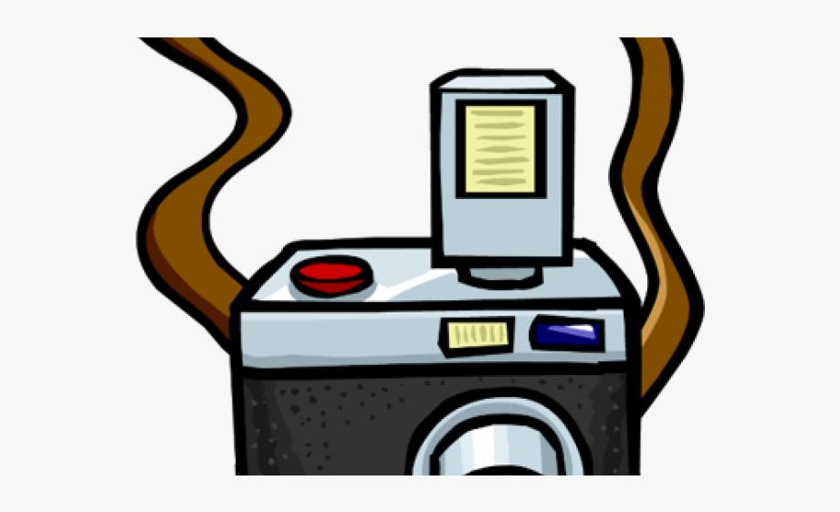 Digital camera school photograph. Photographer clipart photography club
