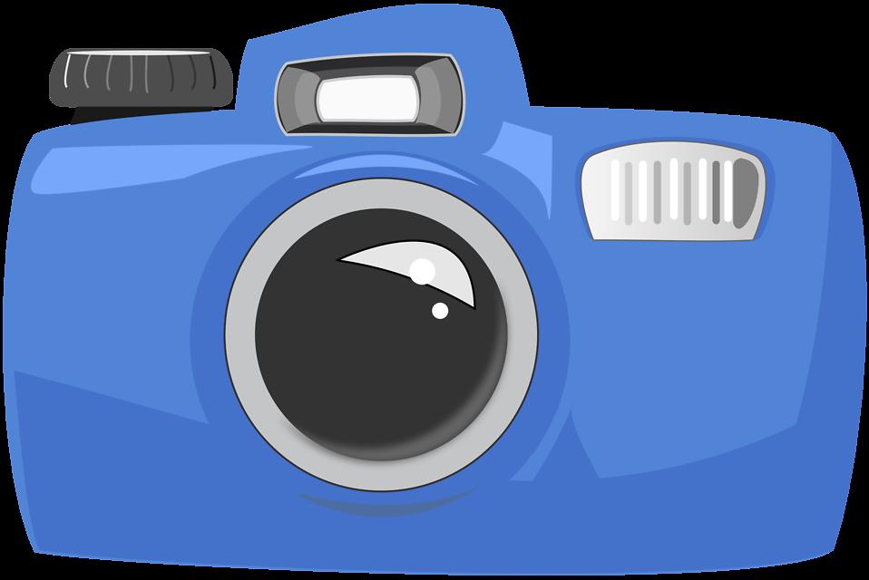 Free stock photo illustration. Photographer clipart camera shoot