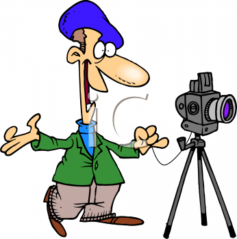 Photography clip art free. Photographer clipart