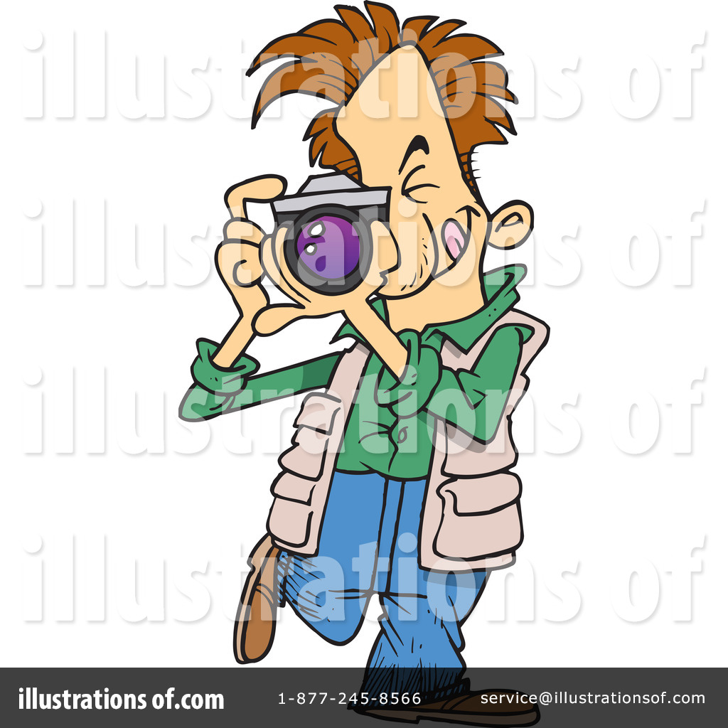 Illustration by toonaday . Photographer clipart day