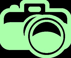 For photography logo clip. Photographer clipart green camera
