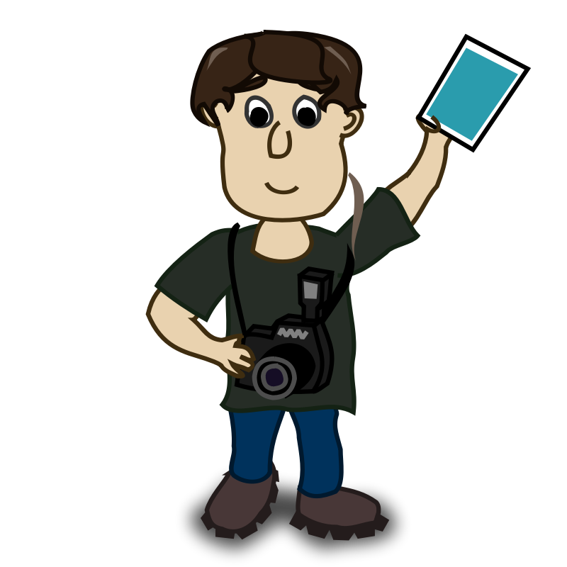 Free photography clip art. Yearbook clipart kid
