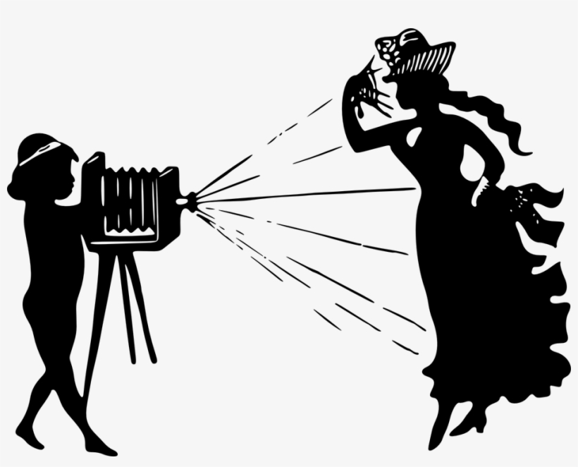 Old time camera . Photography clipart fashion photography
