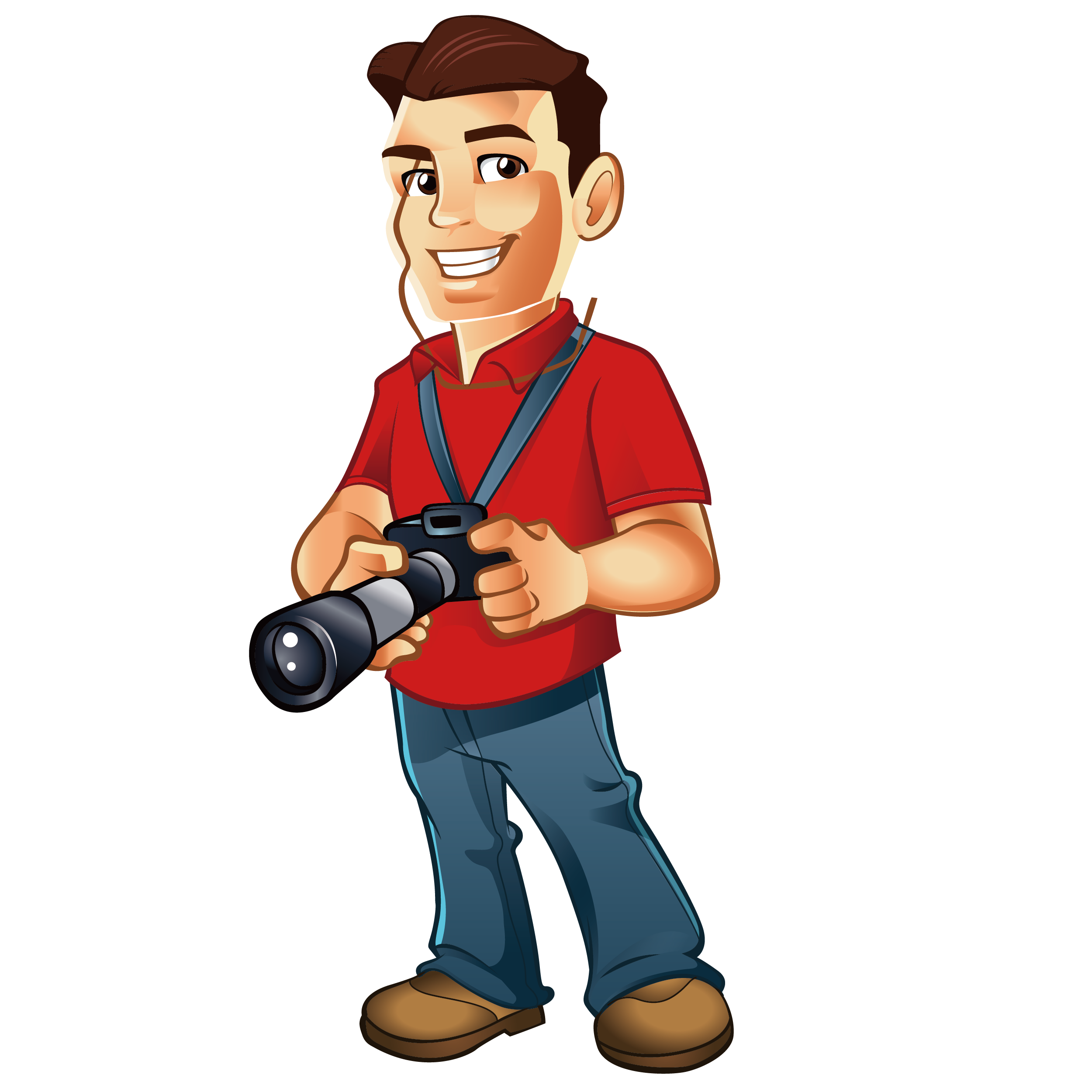 Photography clipart male photographer. Cartoon clip art man
