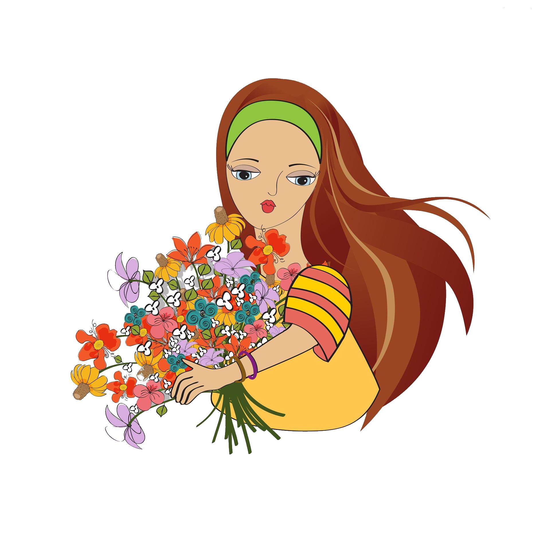 Photographer clipart woman photographer. Cartoon flower stock photography