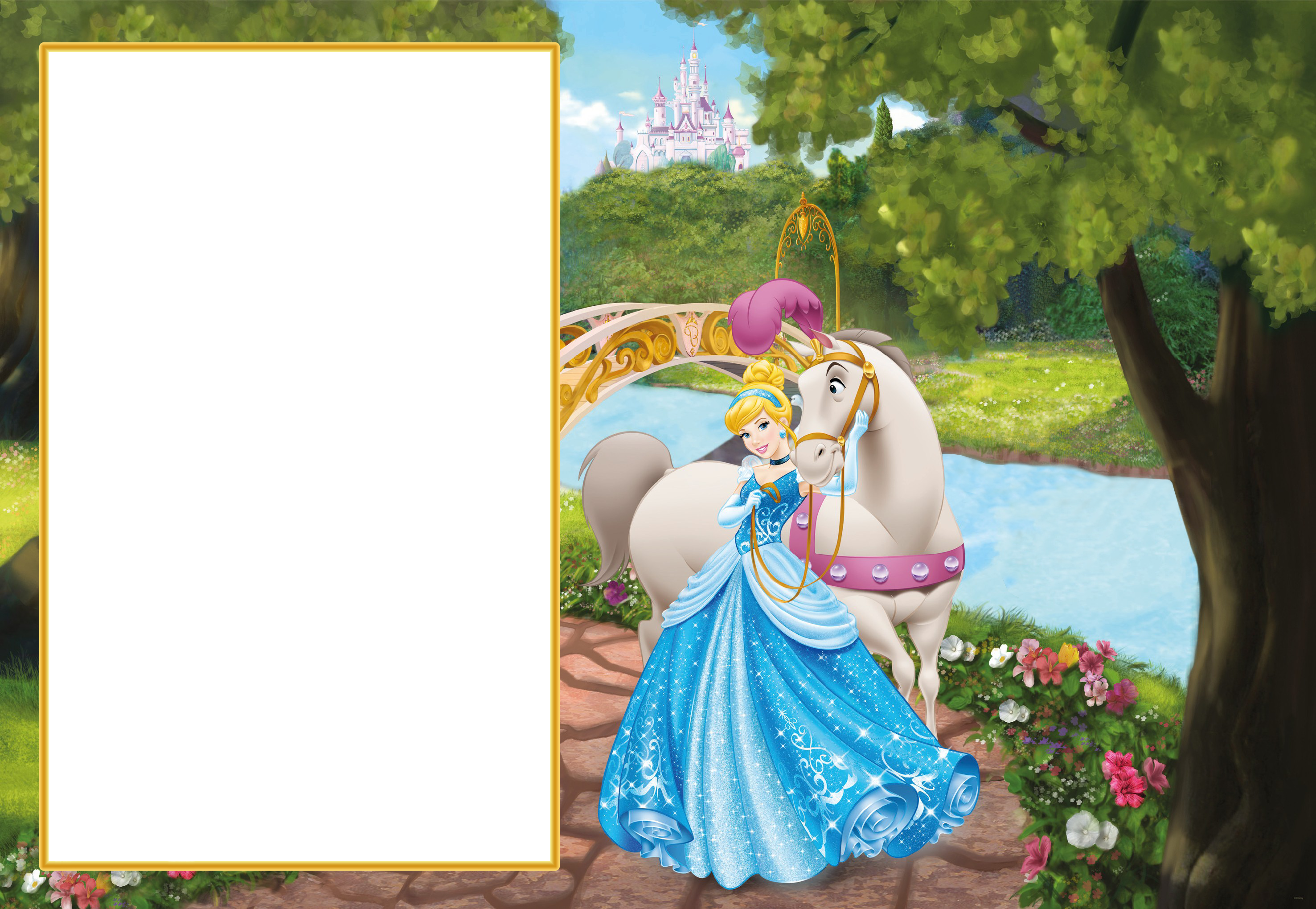 Princess cinderella transparent png. Photography clipart cute