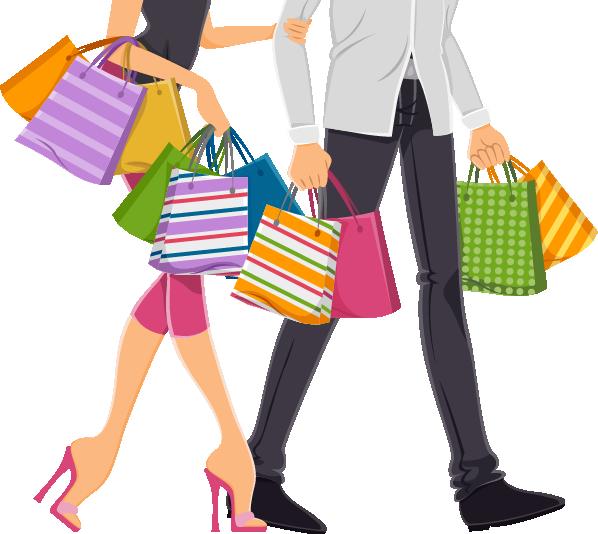 Shopping bag stock clip. Photography clipart fashion photography
