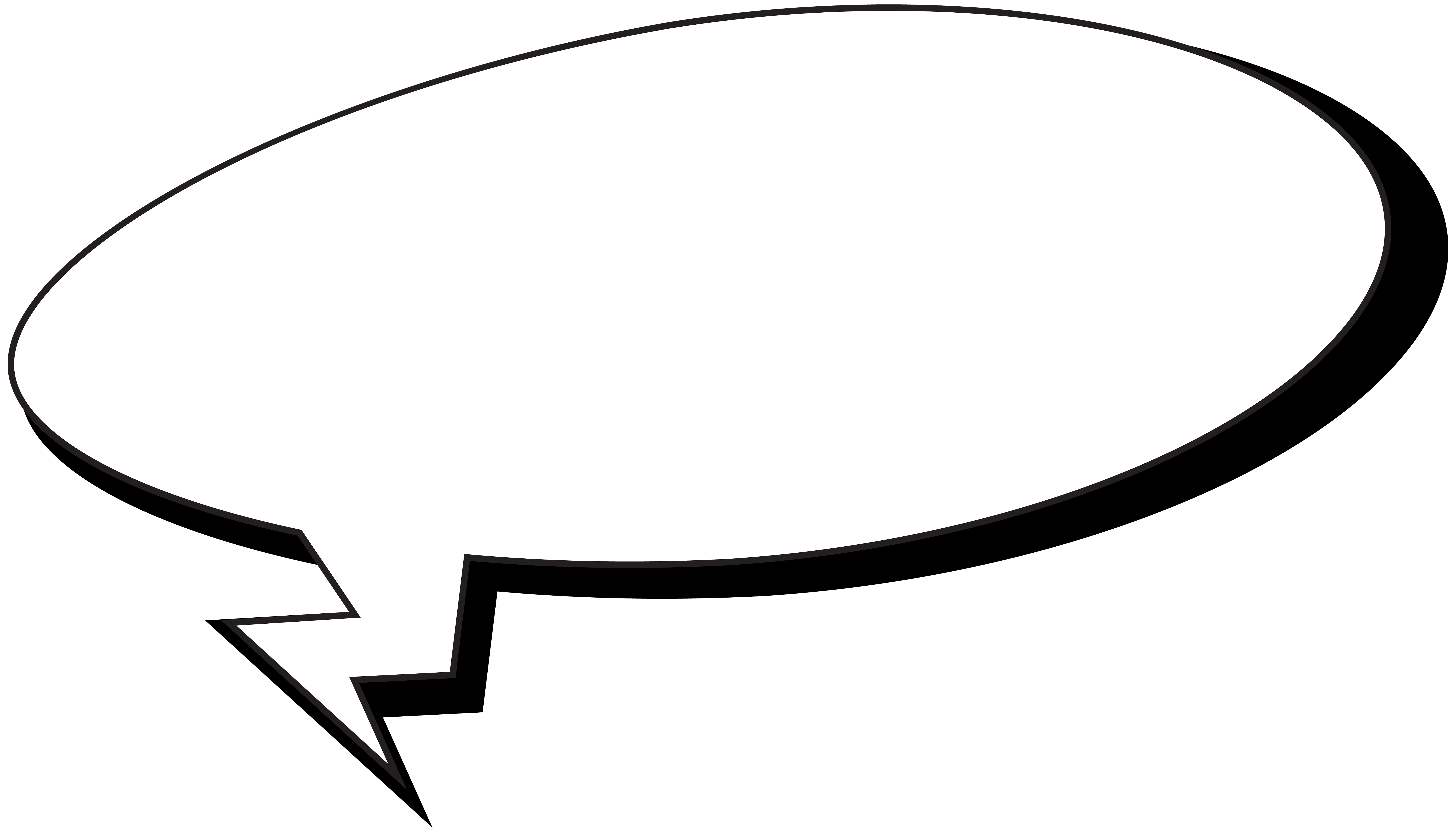 Comics speech bubble png. Photography clipart photo album