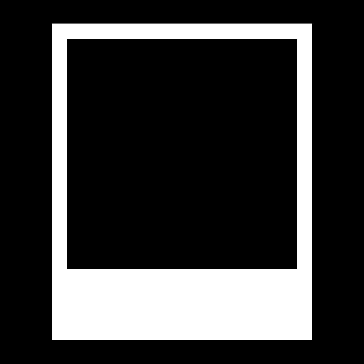 Poloroid template romeo landinez. Polaroid frame png