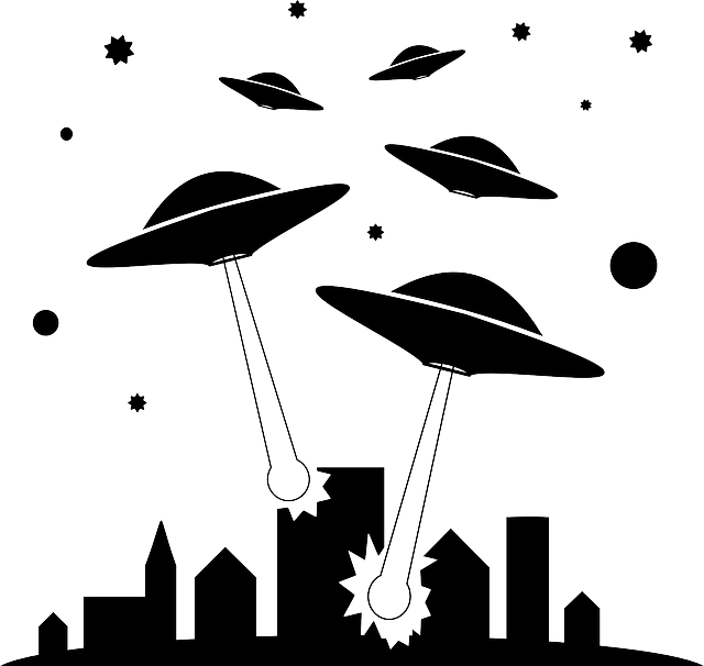 Spaceship clipart chicken invader. Free image on pixabay