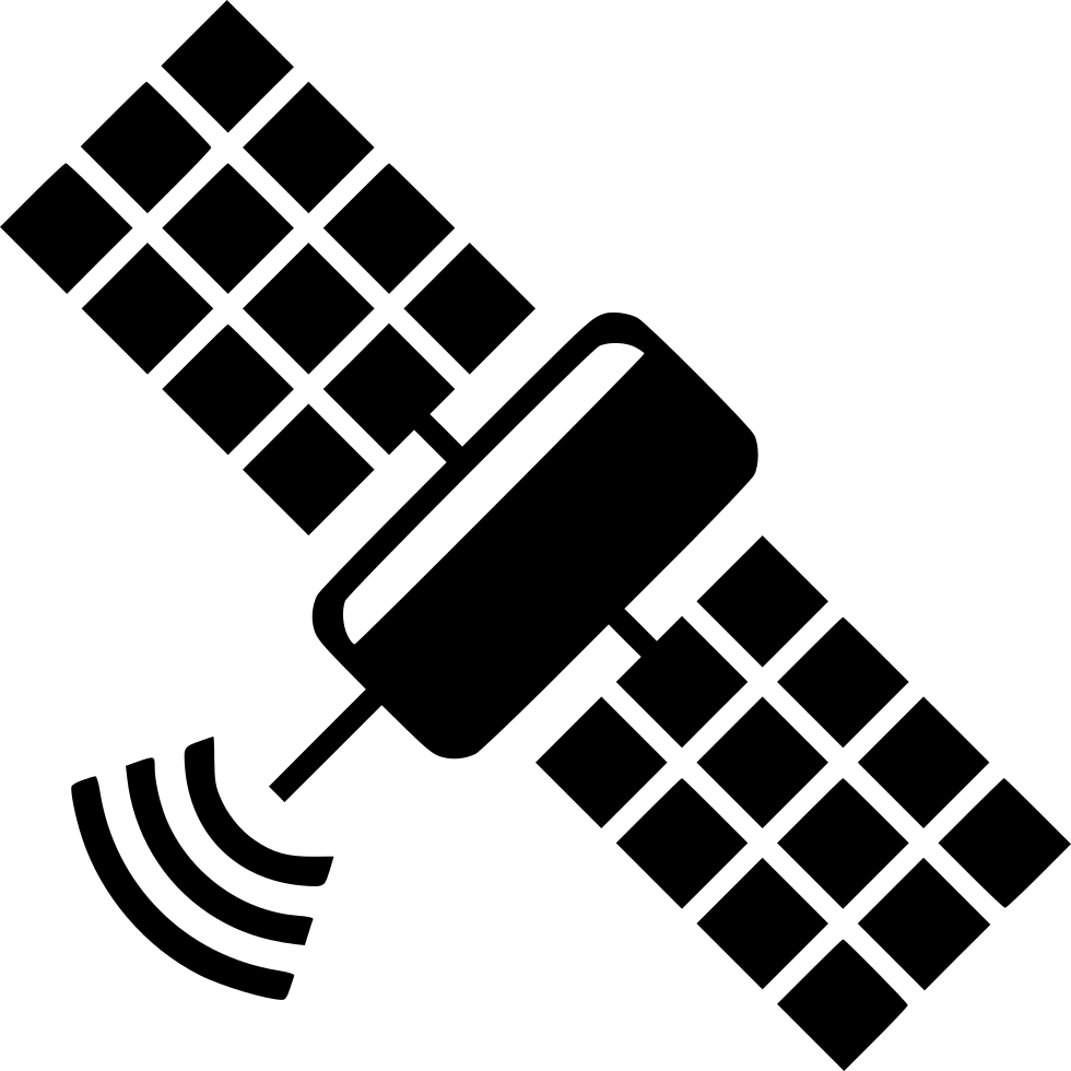 Spaceship clipart physics. Space antenna communication svg