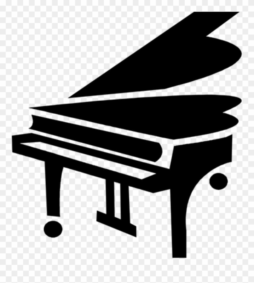 Clipart piano grand piano. Illustration png
