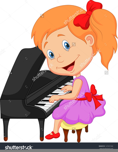 Child playing free images. Piano clipart boy