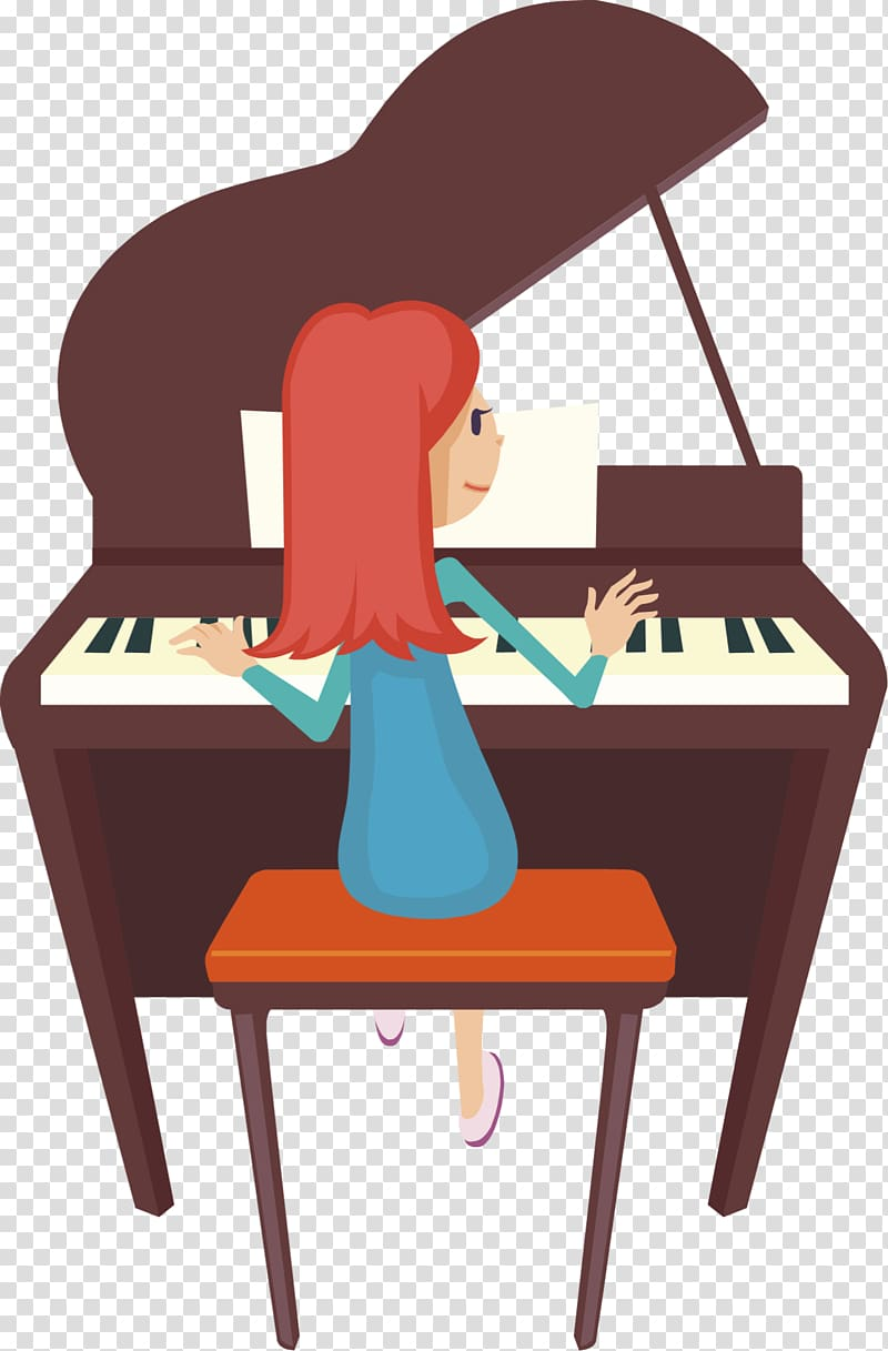 Piano clipart classical piano. Player pianist played transparent