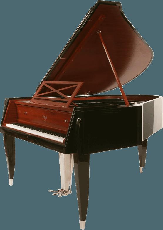 Pleyel depuis paris jacquesemile. Piano clipart curved