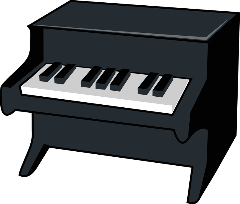 Cartoon cartoonwjd com . Piano clipart cute