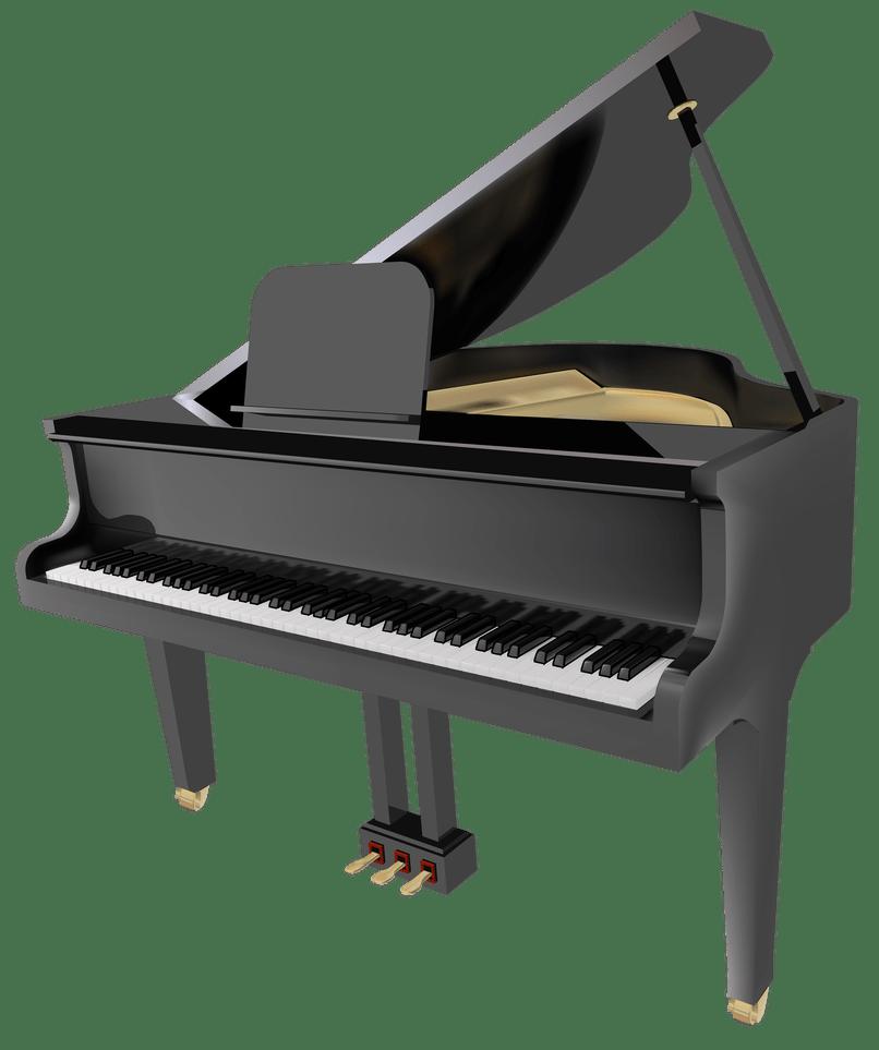 Piano clipart digital piano. Cartoon cartoonwjd com grand