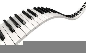 Free images at clker. Piano clipart dueling pianos