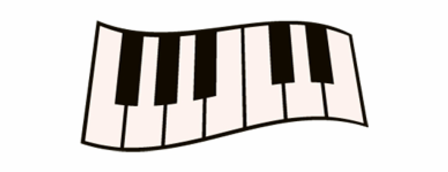Simple keys svg free. Piano clipart easy