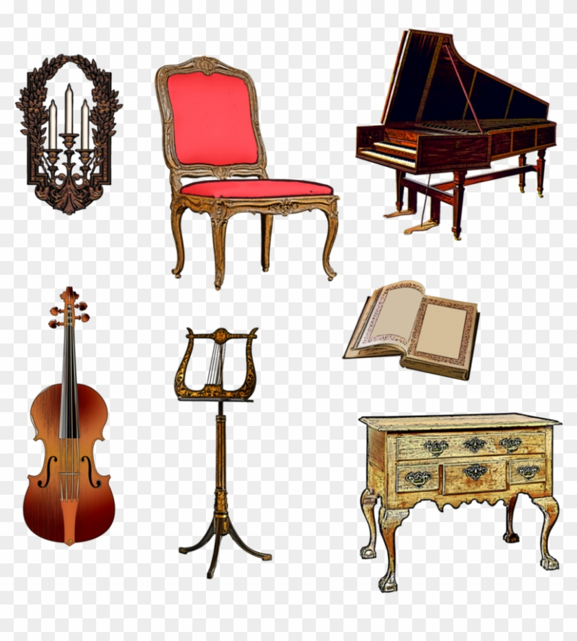 Harpsichord png transparent . Piano clipart hobby