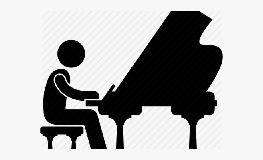 Benefits of music education. Piano clipart hobby