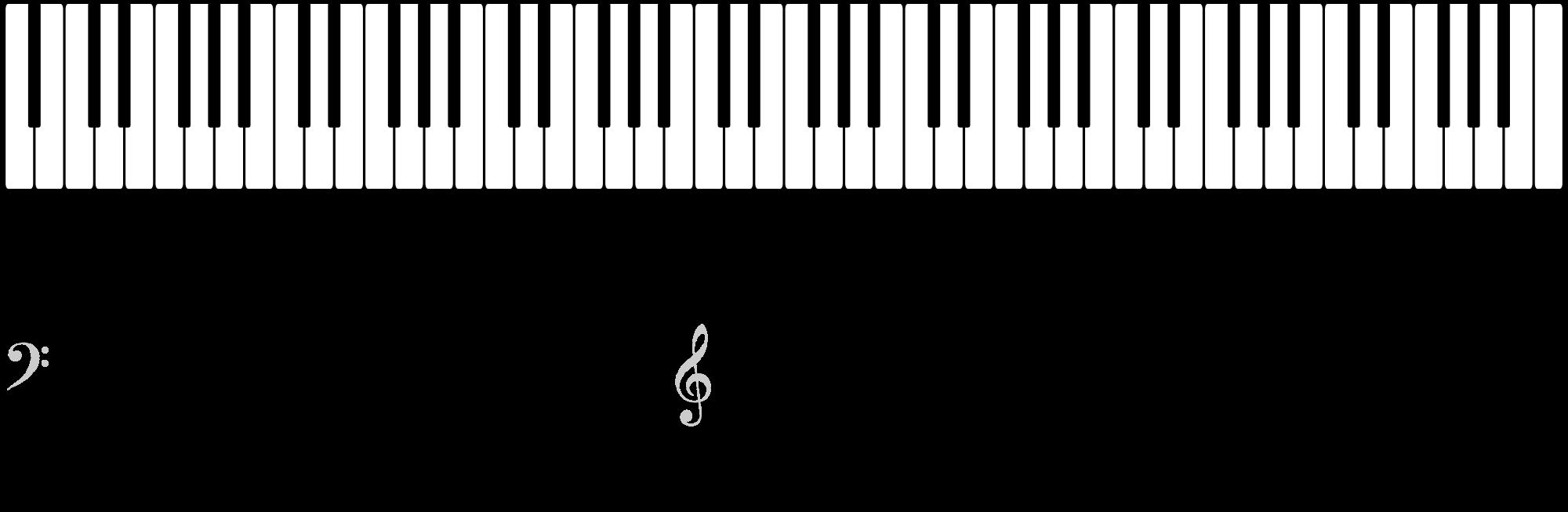 Piano clipart keyboard casio. Notes chart romeo landinez