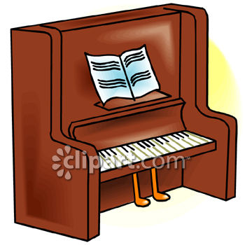 Panda free images . Piano clipart old piano