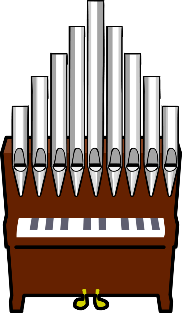 Piano clipart organ. Image pipe png club