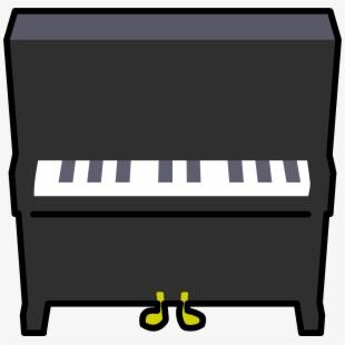 Free cliparts silhouettes cartoons. Piano clipart organ