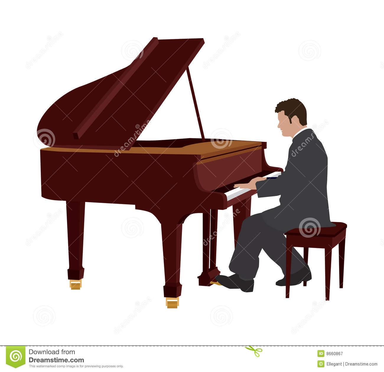 Piano clipart piano player. Free clip art bay