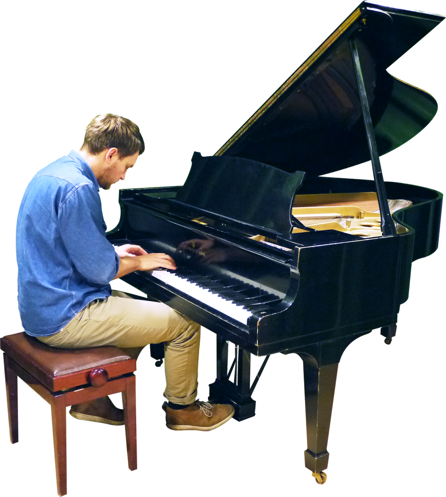 Piano clipart piano player. Playing grand png image