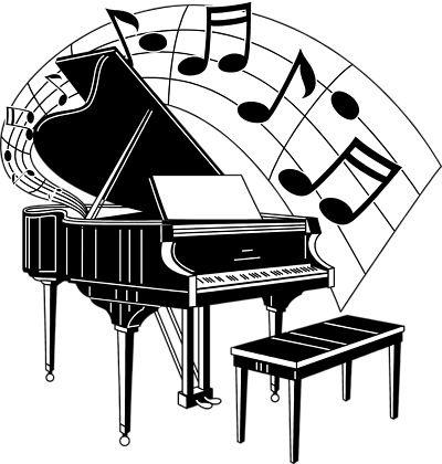 Piano clipart piano recital. Pin by cameron on