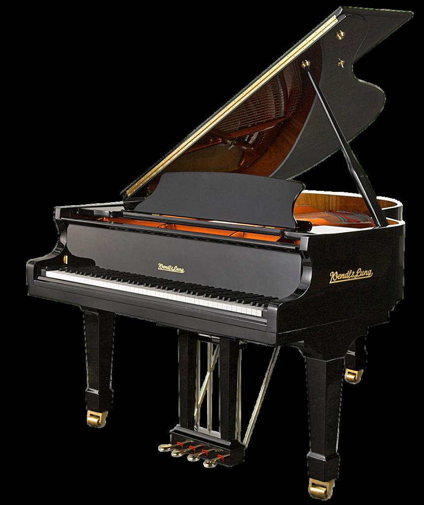 Yamaha acoustic pianos pro. Piano clipart portable