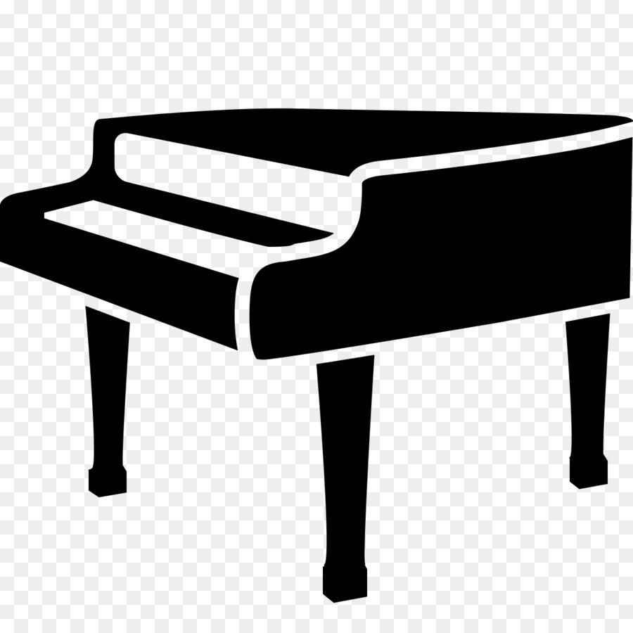 Piano clipart portable. Rock cartoon table rectangle