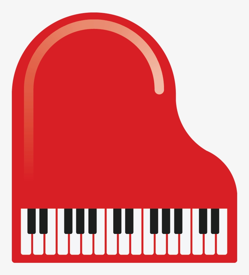 Toy x png . Piano clipart red piano