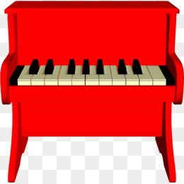 Piano clipart red piano. Png portal