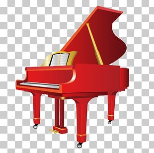 Piano clipart red piano. Png images free download