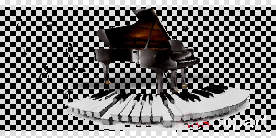Singing cartoon music design. Piano clipart singer