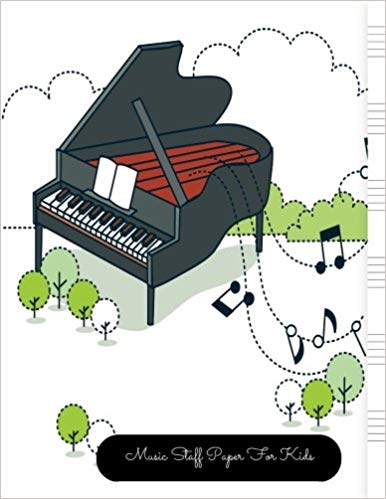 Piano clipart songwriting. Amazon com music staff