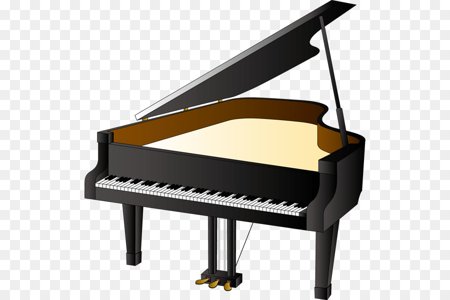 Cartoon illustration . Piano clipart special music