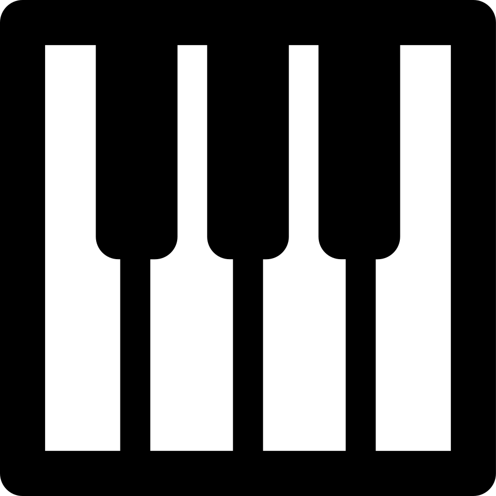 Png icon free download. Piano clipart svg
