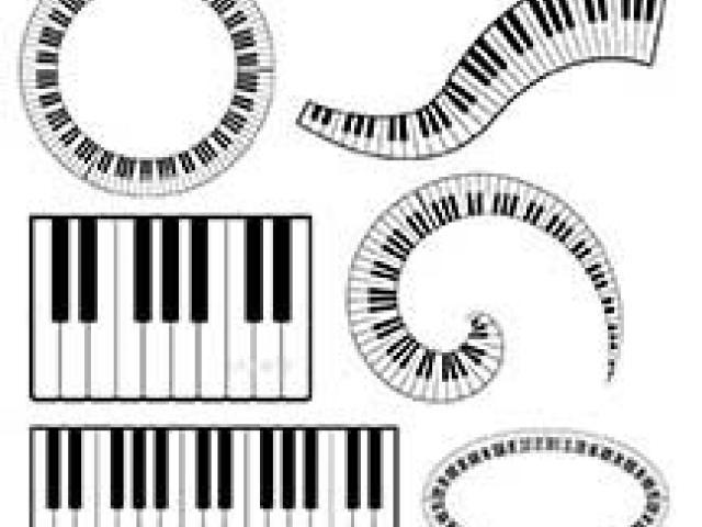 Free violin download clip. Piano clipart swirl
