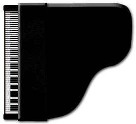 Grand drawing free download. Piano clipart top view