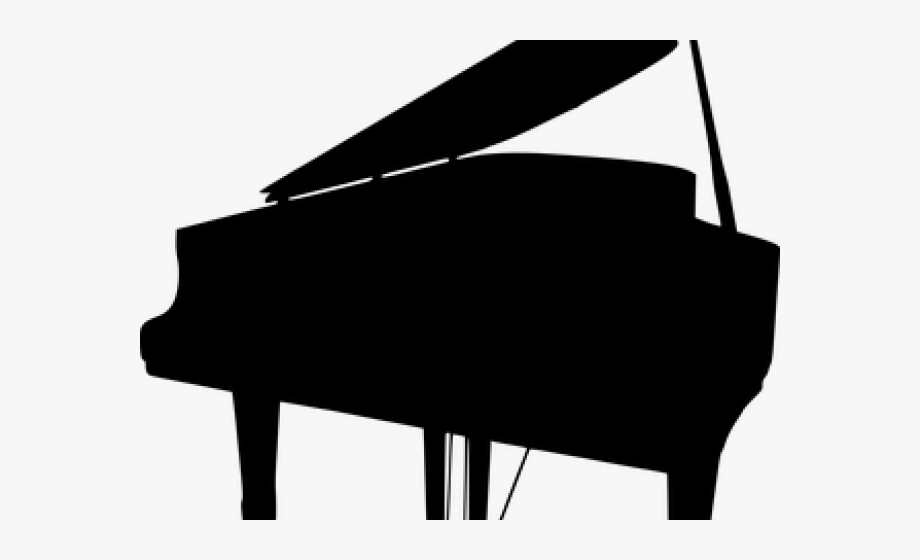 Piano clipart transparent tumblr. Silhouette clip art
