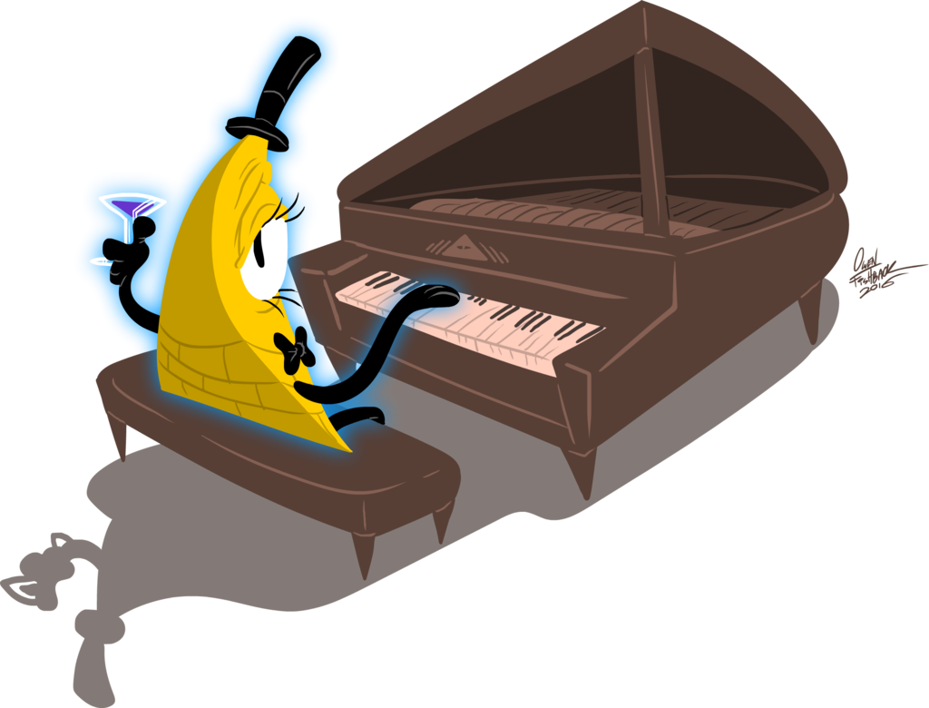 Welcome to the penthouse. Piano clipart triangle
