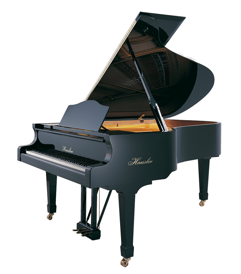 Bluthner central music haessler. Piano clipart upright piano