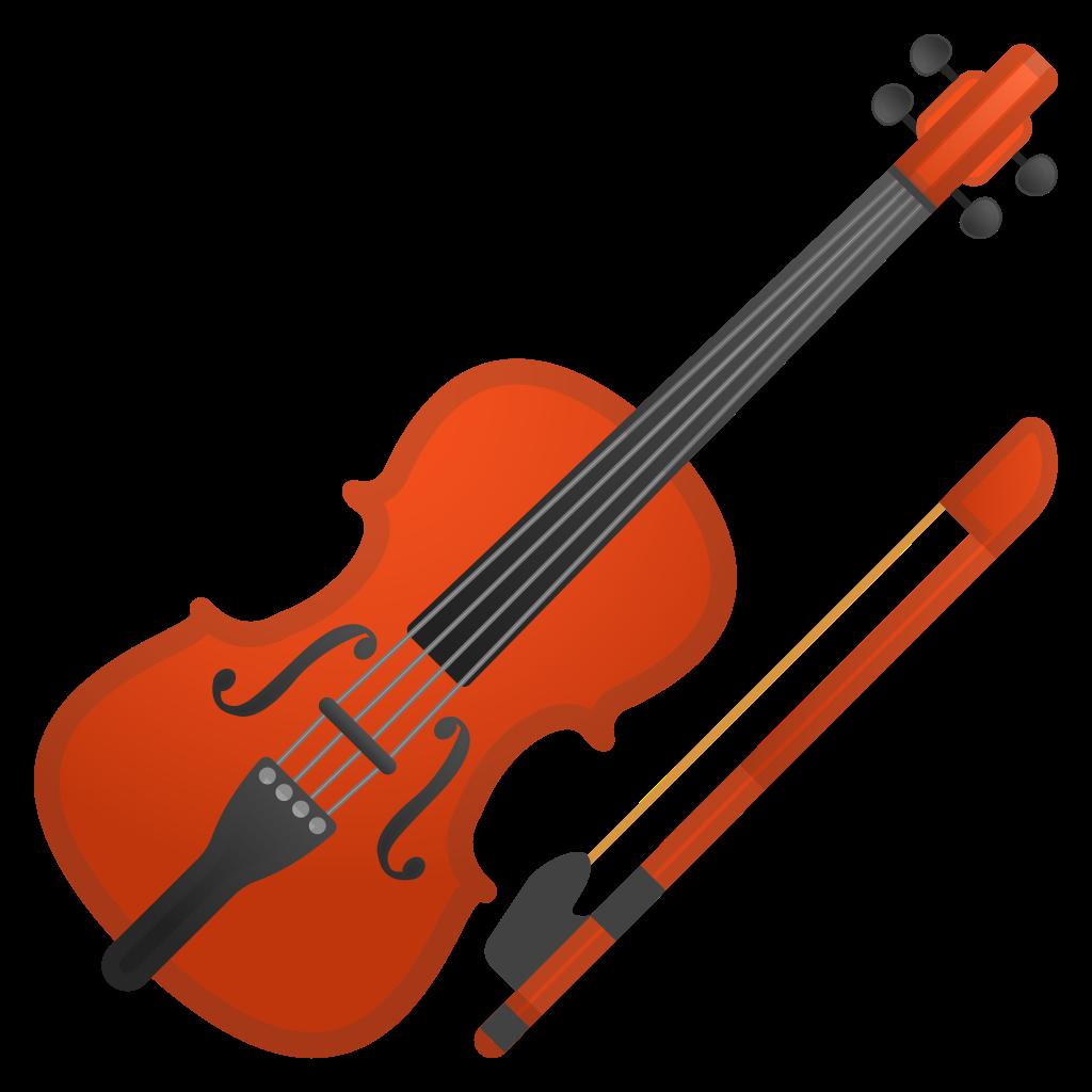 Piano clipart violin. Icon noto emoji objects