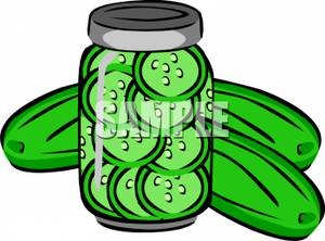 Pickle clipart. Word pickles