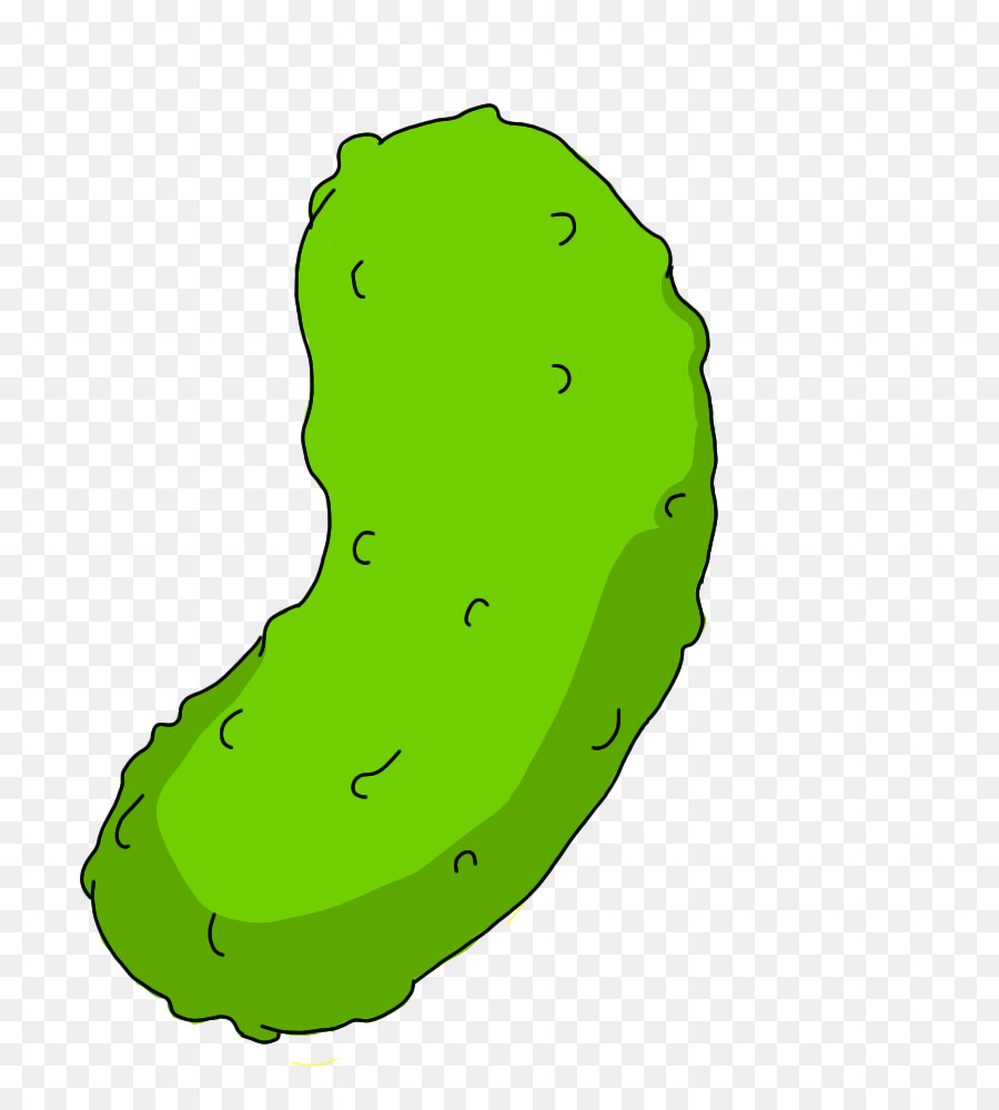 Pickled cucumber color pickling. Pickle clipart